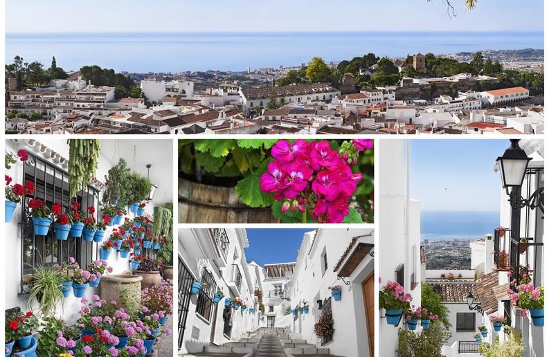Mijas pueblo, Costa del Sol, Andaluca.