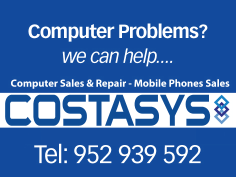 Costasys Computer, IPTV and Internet Solutions Costa del Sol