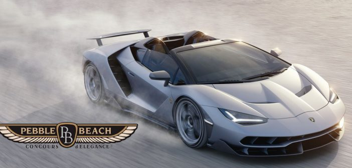 Pebble Beach Car Show 2016